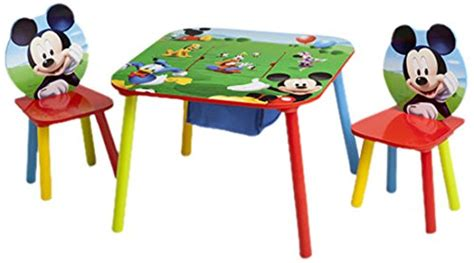 Mickey Mouse Table L by Disney Mickey Mouse Storage Table And Chairs Set