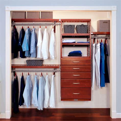 deep deluxe closet organizer   drawers  john louis