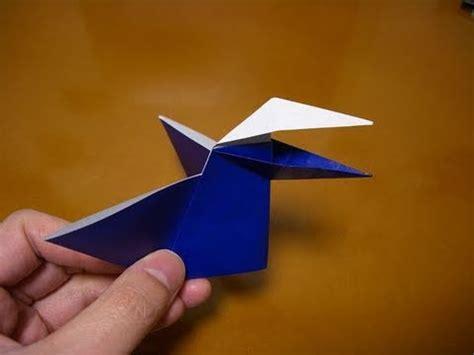 Origami Talking - origami talking bird