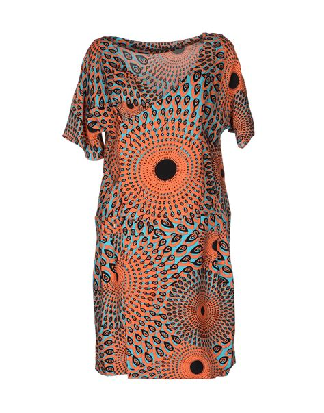 11 Dress Kombi Batik antik batik dress in orange lyst