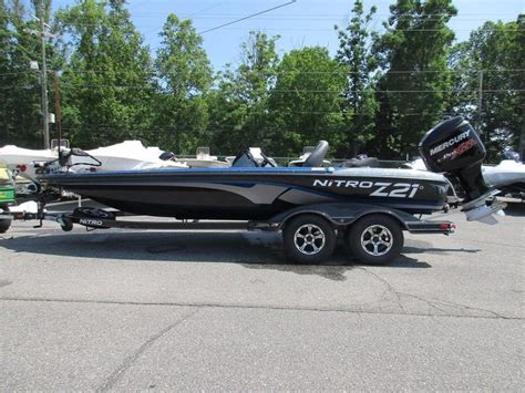 z21 bass boat for sale 2016 new nitro z21 z pro high performance package bass