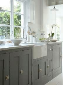 Grey Painted Kitchen Cabinets Rosa Beltran Design Affordable Brass Cabinet Hardware