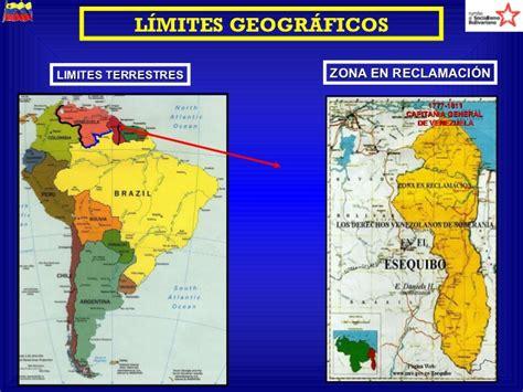 los limites de la 8401496543 geopolitica de venezuela