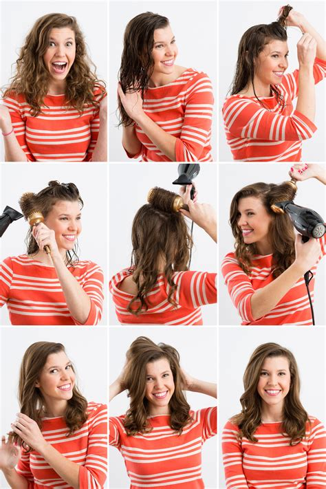 how to section your hair for blow drying 3 ways to master waves with your blow dryer brit co