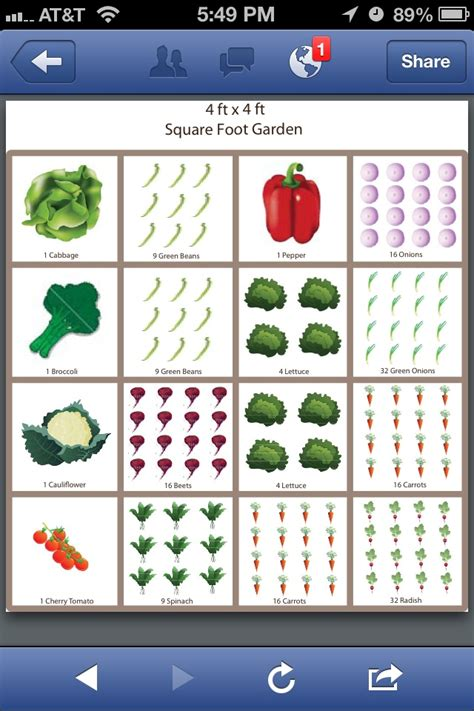 square foot gardening template dream house pinterest