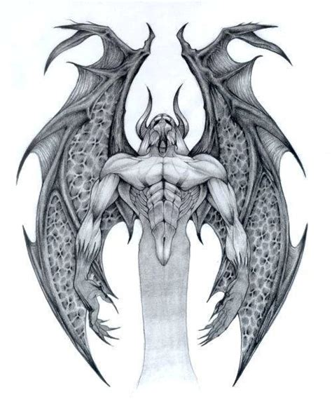 devil wings tattoo designs searching for a design