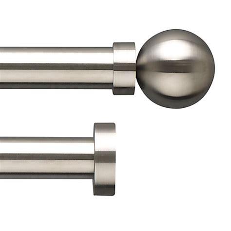 john lewis curtain pole ranges buy john lewis stainless steel curtain pole range dia