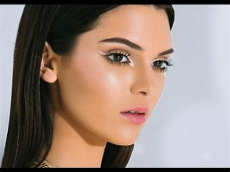 tutorial makeup kendall jenner kendall jenner pacsun makeup tutorial youtube