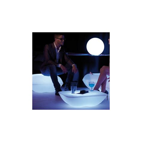 Lu Led Rgb table basse lumineuse led zendart design