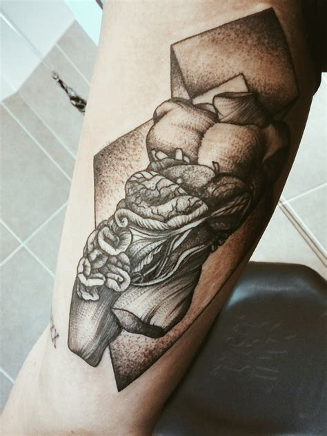 bicep tattoo designs inner bicep by violence