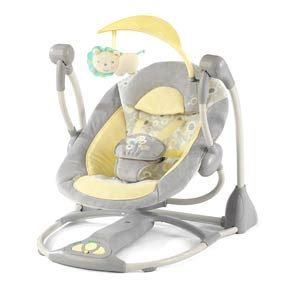 bright lights baby swing win it bright starts ingenuity smart quiet portable