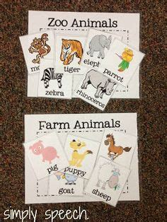 6 best images of zoo animal sorting card printables zoo 1000 images about free file folder games and clip cards