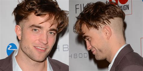 robert pattinson et sa coupe de cheveux quot ticket de m 233 tro