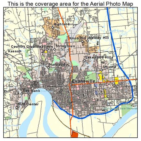 map of evansville indiana aerial photography map of evansville in indiana