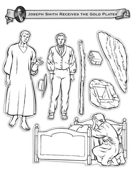 lds coloring pages golden plates joseph smith coloring page coloring pages