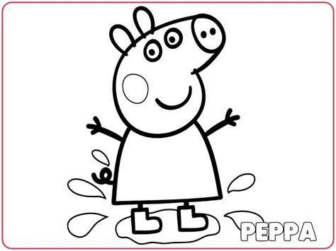 imagenes to pdf dibujos de peppa pig para colorear cuentoslargos com