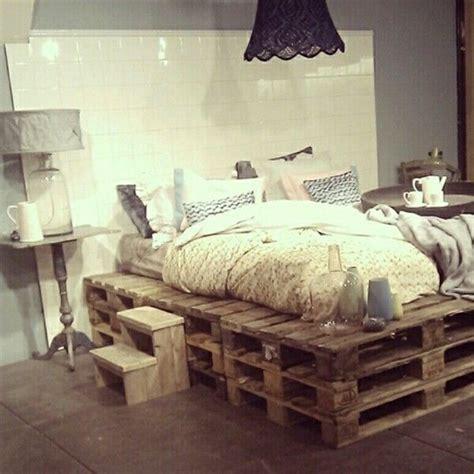 ganzes schlafzimmer kaufen palettenbett bed bett paletten inneneinrichtung