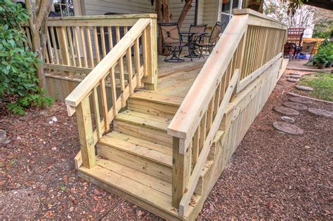 Deck Stairs Handrail deck stairs and railing renovate paint design