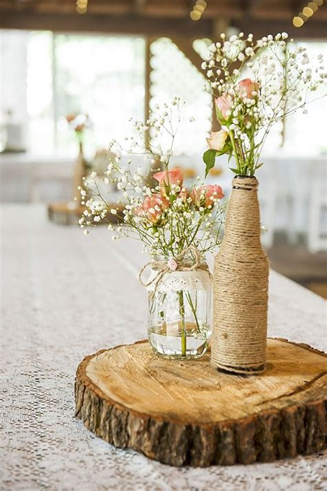 Handmade Wedding Centerpieces - stunning handmade wedding table decorations chwv