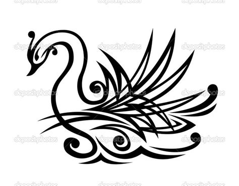 tribal swan tattoo 19 best images about pysanky swans on logos
