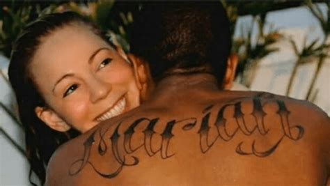 nick cannon tattoo mariah regrets fm