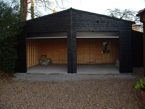 garages by custom made wooden buildings garages by custom made wooden buildings