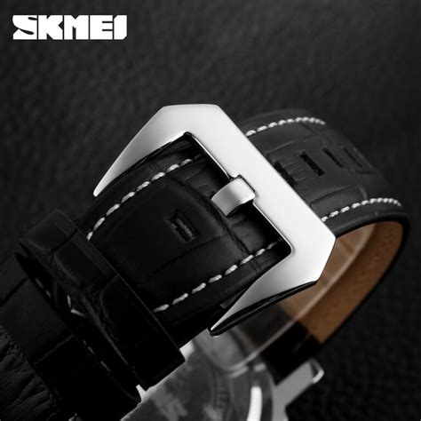 Jam Tangan Anti Air Original Skmei Casual Agm34 skmei jam tangan analog pria 1124cl black white