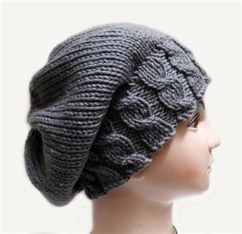 knitting pattern womens hat knitting pattern hat beanie slouchy fall for womens in pdf