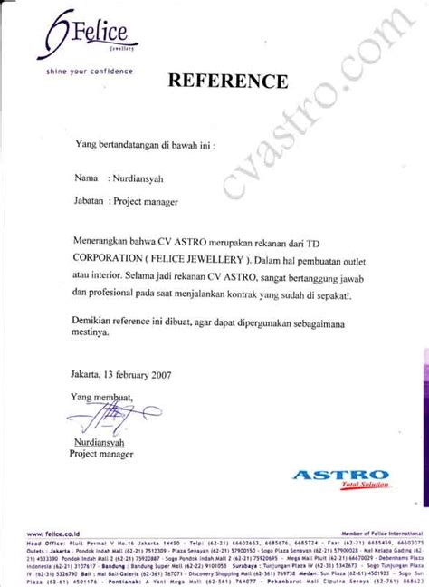 pembuatan rekening perusahaan bca profile kontraktor bali cv astro