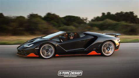 Lamborghini Centenario Roadster Ready to Take on LaFerrari
