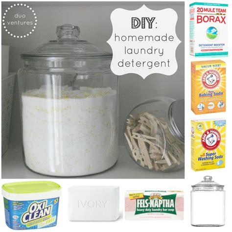 Handmade Laundry Soap - duo ventures diy laundry detergent