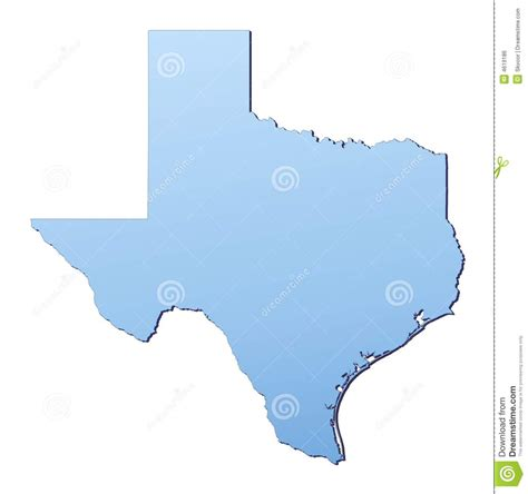 texas map image texas map royalty free stock image image 4619186
