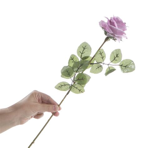 soft orange and muted green artificial rose spray floral lavender artificial long stem roses bushes and bouquets