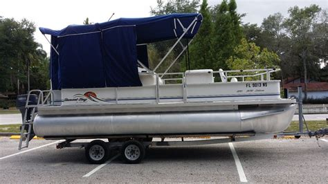 pontoon side curtains sunset pontoon 2007 for sale for 1 675 boats from usa