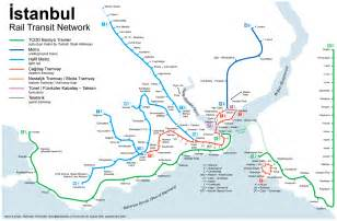 Istanbul Metro Map by Eccl 2009 Meeting Travel