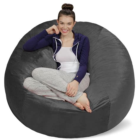 bean bag chair bed huge bean bag chair bed chairs seating