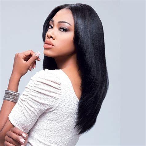 14 Inch Weave Hairstyles by Sensationnel Goddess 100 Remi Human Hair Yaki