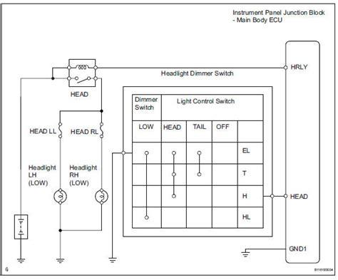 rav4 headlight wiring diagram miata headlight wiring