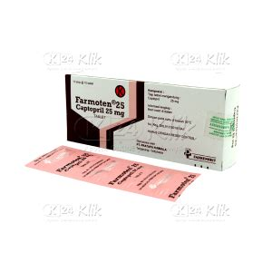 Captopril 12 5 Mg Tablet 1 Isi 10 jual beli farmoten 25mg tab k24klik