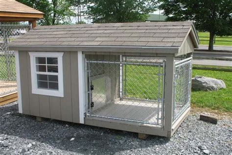 diy outdoor kennel how to build a kennel white trimmed diy white trim and houses