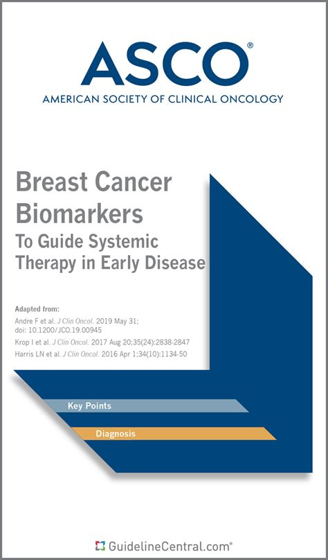 asco breast cancer biomarkers guidelines pocket guide app