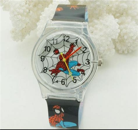 best gifts for spiderman fans new fashion spider man cute cartoon watches for children