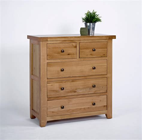 3 drawer chest of drawers oak devon oak 2 over 3 chest of drawers