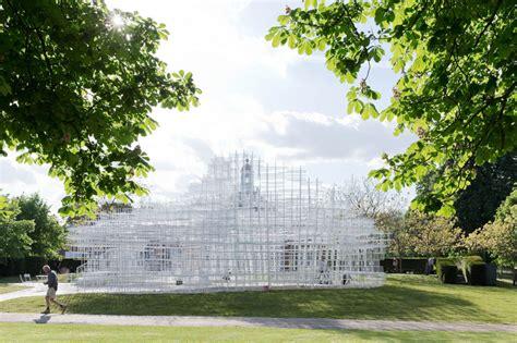 designboom gallery sou fujimoto s serpentine gallery pavilion opens