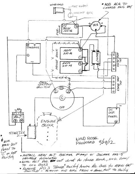 balmar alternator wiring diagram 6 series alternator