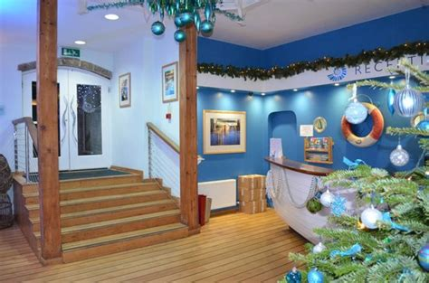 theme hotel new england nautical theme in reception picture of st michael s