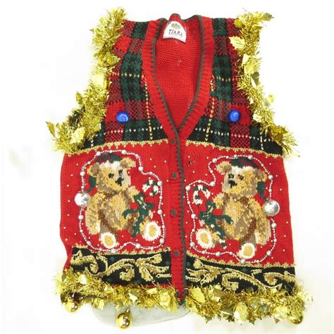 christmas sweater vests light up decoratingspecial com