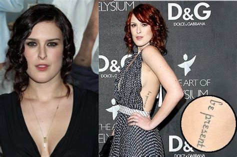 rumer willis tattoos tattoos 2011