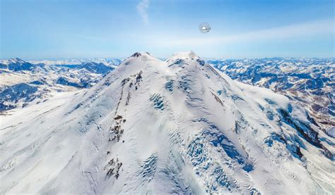 How To Clean The Kitchen by Panoramic View From The Top Of Elbrus Europe S Highest