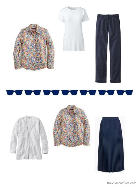 adding wardrobe accents expanding  navy white weekly